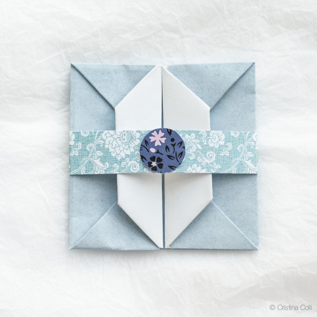 Art Craft image by Melody Boo | Origami envelope | 650x650