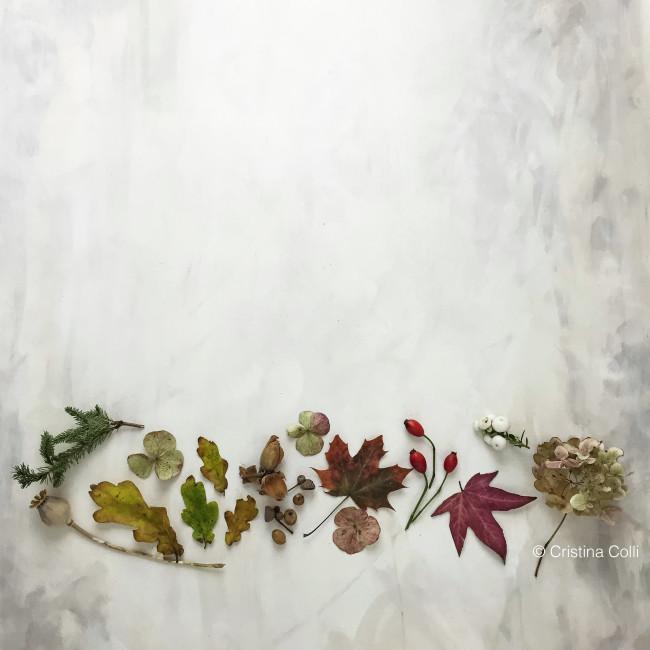 November botanical flatlay 2