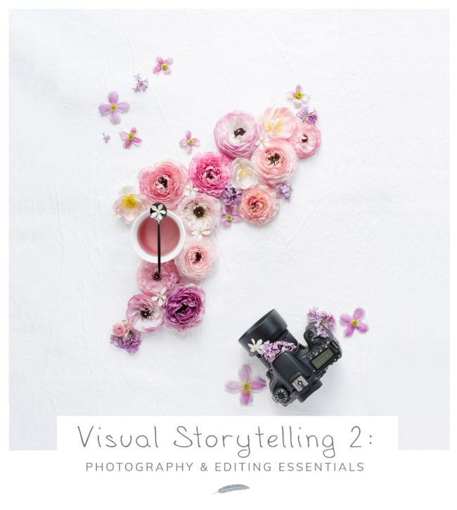 Visual Storytelling 2 - photography & editing essentials